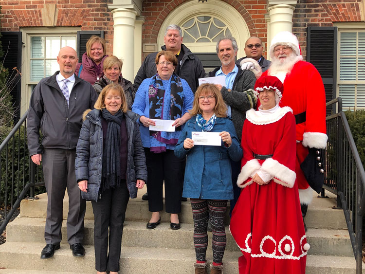 Woodstock Chamber of Commerce Donation