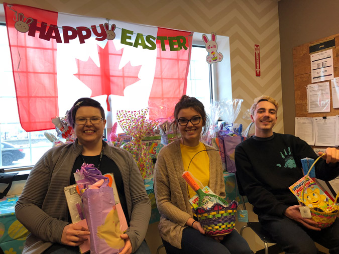 Winners Easter Baskets