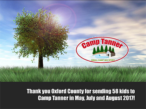 2017 Camp Thank You